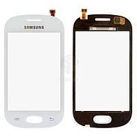 Тачскрин (сенсор) Samsung S6812 Galaxy Fame Dual Sim | Оригинал | белый