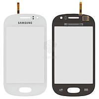 Тачскрин (сенсор) Samsung S6810 Galaxy Fame   Оригинал   белый