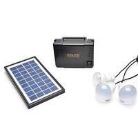 Система освещения с солнечной батареей GD 8012 Solar Board