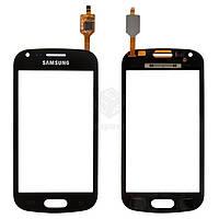 Тачскрин (сенсор) Samsung S7560   S7562   черный