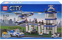 Конструктор City Полицейский участок 81009
