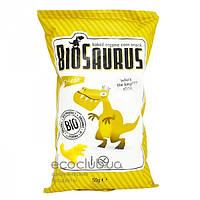 Кукурузные снеки органические BioSaurus с сыром McLLOYD`S 50г
