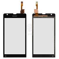 Тачскрин (сенсор) Sony C5302 M35h Xperia SP | Оригинал | C5303 M35i Xperia SP | Оригинал | черный