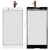 Тачскрин (сенсор) Sony D5322 Xperia T2 Ultra DS | Оригинал | белый