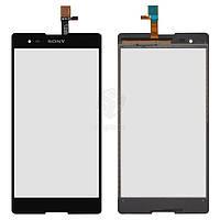 Тачскрин (сенсор) Sony D5322 Xperia T2 Ultra DS | Оригинал | черный