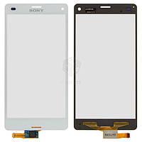 Тачскрин (сенсор) Sony D5803 Xperia Z3 Compact Mini | Оригинал | белый