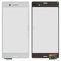 Тачскрин (сенсор) Sony D6603 Xperia Z3 | Оригинал | D6633 Xperia Z3 DS | Оригинал | D6643 Xperia Z3 | Оригинал | D6653 Xperia Z3 | Оригинал | белый