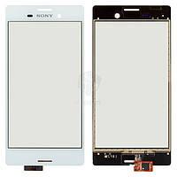 Тачскрин (сенсор) Sony E2303 Xperia M4 Aqua LTE | Оригинал | E2306 | Оригинал | E2312 | Оригинал | E2333 | Оригинал | белый