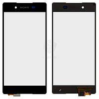 Тачскрин (сенсор) Sony E6553 Xperia Z3+ | Оригинал | Xperia Z4 | Оригинал | черный