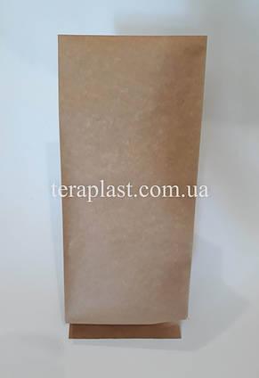 Пакет с центральным швом крафт+металл 1кг 135х360х35, фото 3