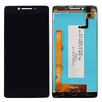 Дисплей (экран) для Lenovo A6000 /A6010 K3 леново + тачскрин, цвет черный