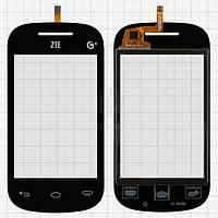 Тачскрин (сенсор) ZTE V795   черный