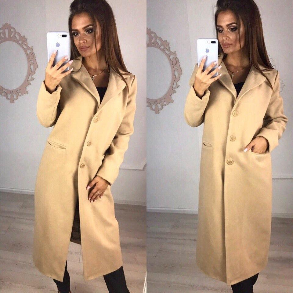 Пальто женское 48+  арт 57208-160