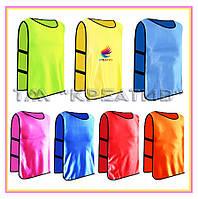 Пошив жилетов рабочих, футбольных с логотипом на заказ (от 50 шт.)