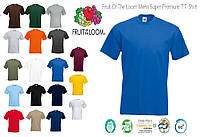 Футболки Fruit Of The Loom Mens Super Premium T