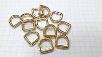 Полукольцо С6064 золото 8 мм