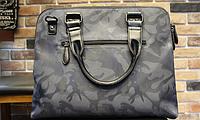 Мужская кожаная сумка. Модель 61271, фото 7