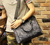 Мужская кожаная сумка. Модель 61271, фото 2