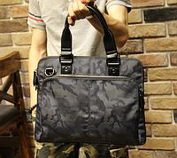 Мужская кожаная сумка. Модель 61271, фото 3