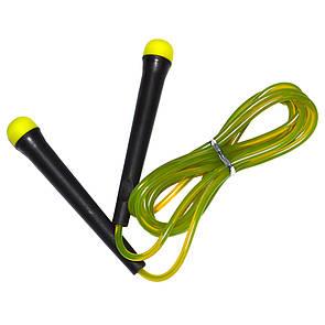 Скакалка Fitex MDJR024-G, зеленая (ПРОФКА)
