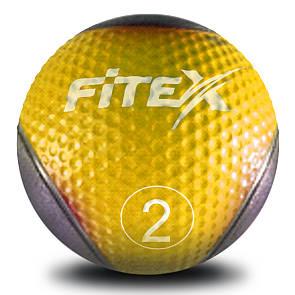 Медбол Fitex MD1240-2, 2 кг (ПРОФКА)