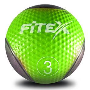 Медбол Fitex MD1240-3, 3 кг (ПРОФКА)