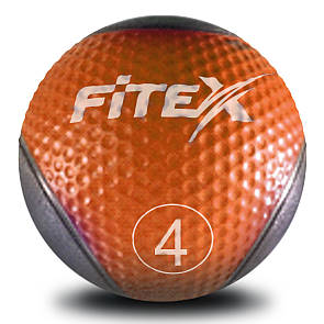 Медбол Fitex MD1240-4, 4 кг (ПРОФКА)