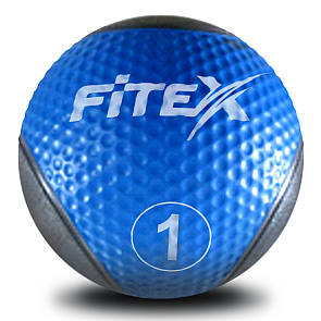 Медбол Fitex MD1240-1, 1 кг (ПРОФКА)
