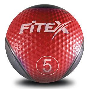 Медбол Fitex MD1240-5, 5 кг (ПРОФКА)