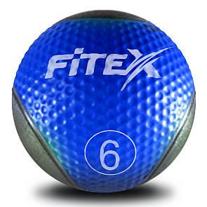 Медбол Fitex MD1240-6, 6 кг (ПРОФКА)