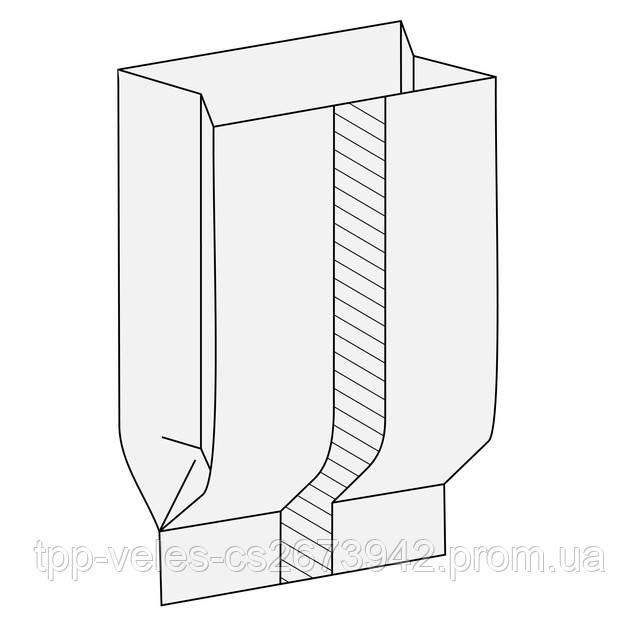 Схема пакета с центральным швом