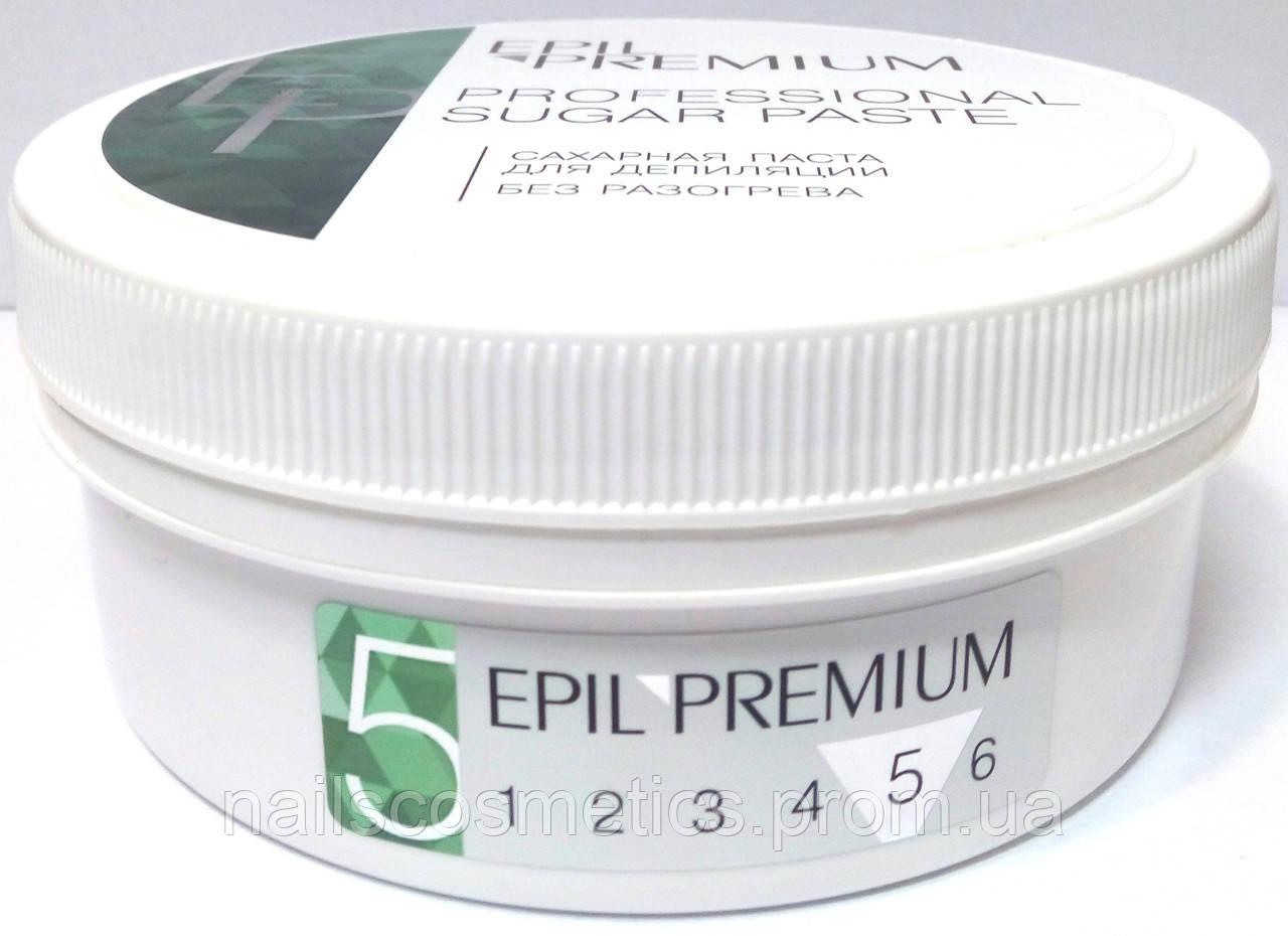 Паста для шугаринга №5 EPIL PREMIUM Hard (твердая), 430г.