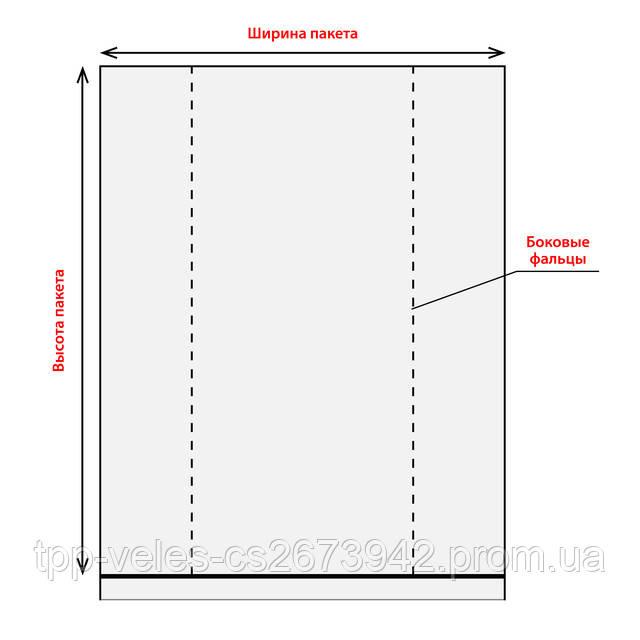 Схема фасовочного пакета