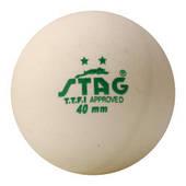 Шарики для наст. тенниса Stag Two Star White Ball 3 шт