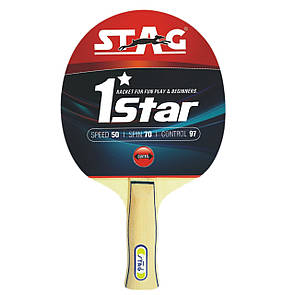 Ракетка для настольного тенниса Stag *1Star (ФИТНЕС)
