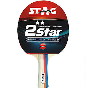 Ракетка для настольного тенниса Stag **2Star (ФИТНЕС)
