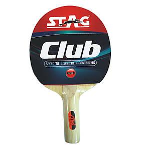 Ракетка для настольного тенниса Stag Club (ФИТНЕС)