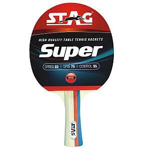 Ракетка для настольного тенниса Stag Racket Super (ФИТНЕС)