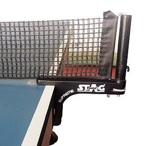 Теннисная сетка с креплением Stag Post Supreme