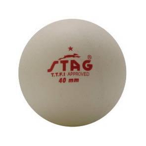 Шарики для наст. тенниса Stag One Star White Ball 6 шт (ФИТНЕС)