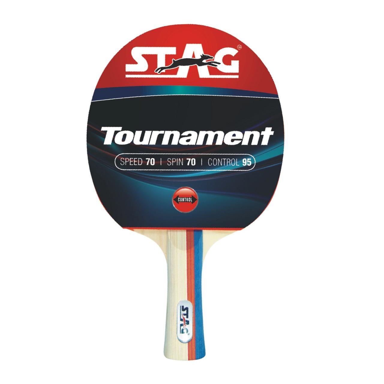 Ракетка для настольного тенниса Stag Tournament (ФИТНЕС)