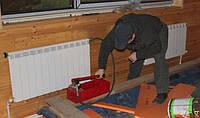 Опрессовка системы отопления. Киевская область