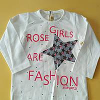 Батник для девочки Baby rose(74-92)