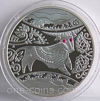 Монета Украины 5 грн. 2009 г. Год Быка, фото 1