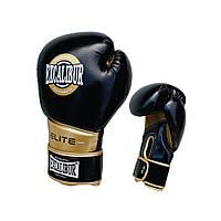 Перчатки боксерские Excalibur 8008 (14 oz) золотой/черный