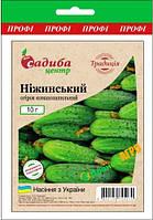 "Семена огурца Нежинский F1, среднепоздний 10 г, ""Бадваси"", Традиция"