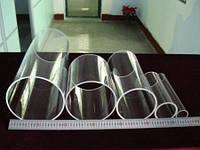 Кварцевые трубы больших диаметров