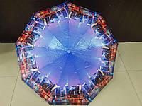 Зонт женский полуавтомат лаке Universal города (М339-4)
