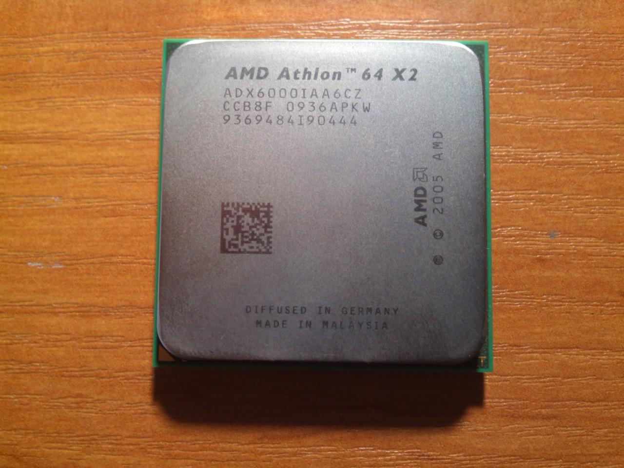 AMD Athlon 64 X2 6000+ ADX6000IAA6CZ Гарантия!