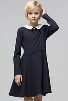 Школьное трикотажное платье